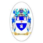 Monteiro Sticker (Oval 10 pk)