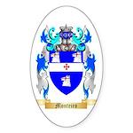 Monteiro Sticker (Oval 50 pk)