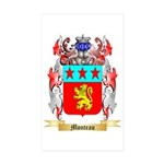Monteau Sticker (Rectangle 10 pk)