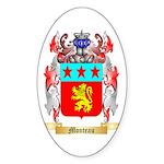Monteau Sticker (Oval)