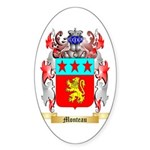 Monteau Sticker (Oval 50 pk)