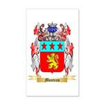 Monteau 20x12 Wall Decal