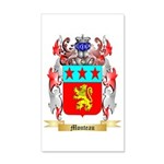 Monteau 35x21 Wall Decal