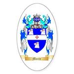 Monte Sticker (Oval 50 pk)