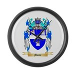 Monte Large Wall Clock