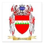 Montano Square Car Magnet 3