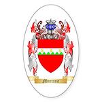 Montano Sticker (Oval 50 pk)