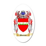 Montano 20x12 Oval Wall Decal