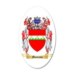 Montano 35x21 Oval Wall Decal