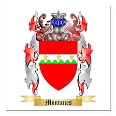 Montanes Square Car Magnet 3