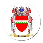 Montanes Round Car Magnet