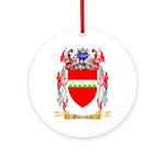 Montanes Round Ornament