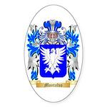 Montalvo Sticker (Oval 50 pk)