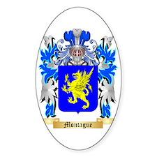 Montague Sticker (Oval)