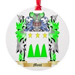 Mont Round Ornament