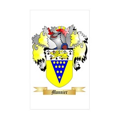 Monnier Sticker (Rectangle 10 pk)