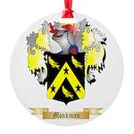 Monkman Round Ornament