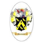 Monkman Sticker (Oval)