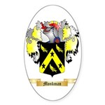 Monkman Sticker (Oval 50 pk)