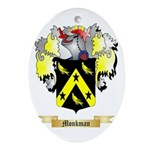 Monkman Oval Ornament
