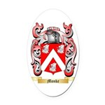 Monke Oval Car Magnet