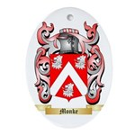 Monke Oval Ornament