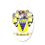 Monier Oval Car Magnet