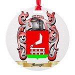Monget Round Ornament