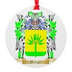 Monger Round Ornament