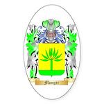 Monger Sticker (Oval)