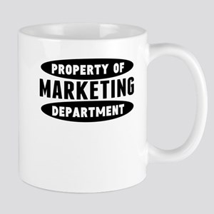 Property Of Marketing Department Mugs
