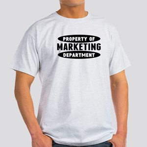 Property Of Marketing Department T-Shirt