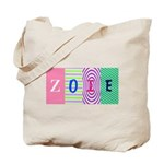 Personalize Your Name (4 letters) Tote Bag
