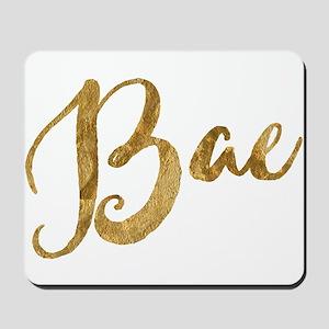 Golden Look Bae Mousepad