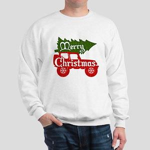 Merry Christmas 4x4 (vintage look) Sweatshirt