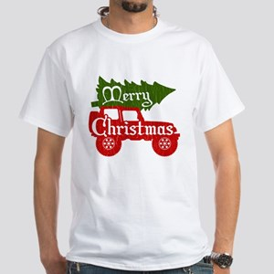 Merry Christmas 4x4 (vintage look) T-Shirt