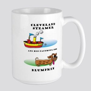 Cleveland Steamer And His Faithful Dog Mugs