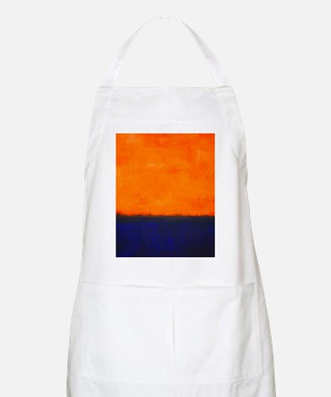 ROTHKO ORANGE AND BLUE Apron