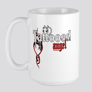 Tattooed Angel Large Mug