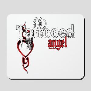 Tattooed Angel Mousepad