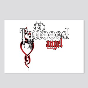 Tattooed Angel Postcards (Package of 8)