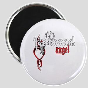 Tattooed Angel Magnet