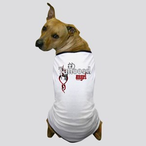 Tattooed Angel Dog T-Shirt