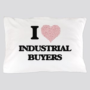 I love Industrial Buyers (Heart made f Pillow Case