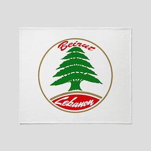 LEBANON copy Throw Blanket