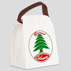 LEBANON copy Canvas Lunch Bag