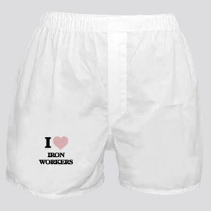 I love Iron Workers (Heart made from Boxer Shorts