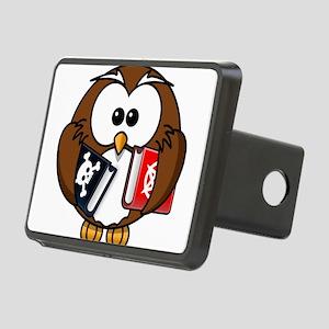 Studious Owl Rectangular Hitch Cover