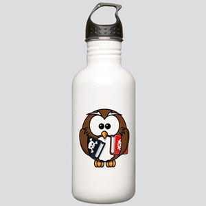 Studious Owl Stainless Water Bottle 1.0L