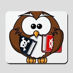 Studious Owl Mousepad
